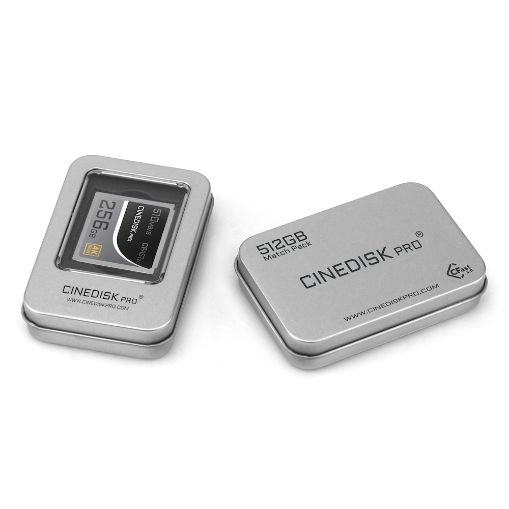cinediskpro cfast card box